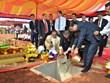 越南与柬埔寨动工兴建师范边境集市