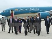 阮富仲总书记出席在美国举行的波音787-9飞机交接仪式