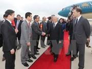 越共中央总书记阮富仲抵达华盛顿 开始对美国进行正式访问