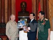 越南国家主席张晋创会见苏联宇航员戈尔巴特科