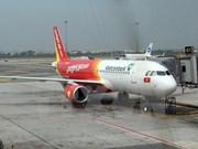 越捷航空公司出售50万张零价机票