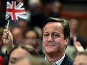 英国首相卡梅伦本月底将对越南进行正式访问