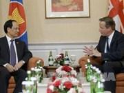 英国承诺进一步深化与东盟之间的经济关系