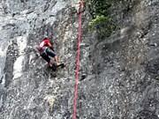 越南最高半人工岩攀岩比赛将首次在丰芽—格邦国家公园举行