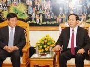 越南公安部部长陈大光会见中国国家安全部副部长董海舟