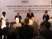 英国首相出席越英有关经营中的廉政建设研讨会