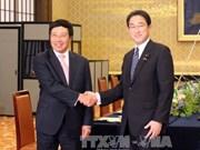 越日加强双边多领域的合作关系