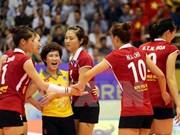2015越南国际女排锦标赛落幕:泰国U23队夺冠