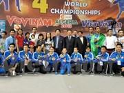第4届越武道世界锦标赛:越南代表团连续第4次卫冕冠军