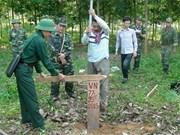 越南与柬埔寨边界线陆地边界勘界立碑工作:从协议到实际