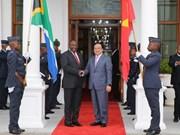 进一步加强越南与南非加强各领域的合作关系
