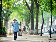 越南河内和那些沿街叫卖小贩