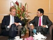 范平明副总理分别会见挪威、柬埔寨和菲律宾外长