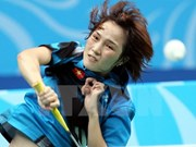 越南羽毛球员动员参加2015年世界羽毛球锦标赛