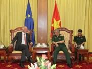 欧盟驻越南代表团团长:越欧防务合作取得积极进展