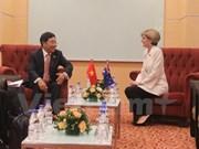 越南政府副总理兼外长同欧盟外交与安全政策高级代表和澳大利亚外长会