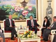 越南公安部希望加强与欧盟和美国有关机关的合作