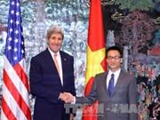 越南政府副总理武德儋会见美国国务卿约翰·克里