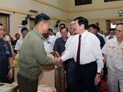 越南国家主席张晋创莅临宜安省调研