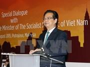 阮晋勇总理会见旅居马来西亚越南人社群