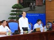 越南政府副总理武文宁接见后江省革命有功者代表团