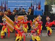 """""""东盟日""""活动亮相印尼首都雅加达"""