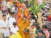 向朔庄省高棉族同胞宣传党和国家的政策路线