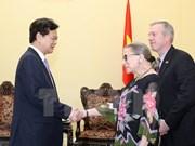 越南政府总理阮晋勇会见美国最高法院大法官金斯伯
