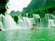 越南高平省板约瀑布——充满诗情画意的人间仙境