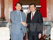 越南国家主席张晋创会见日本农林水产大臣
