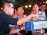 越南留学生在美国捐款帮助广宁省灾民