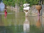 缅甸水灾持续恶化4千灾民被紧急疏散