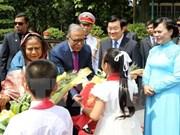 孟加拉国总统圆满结束对越南进行的国事访问