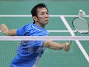 阮进明挺进2015年世界羽毛球锦标赛第三轮比赛