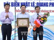 广平省日丽海滩跻身越南十大海洋旅游胜地名单