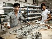 越南努力提高工会在制衣厂和制鞋厂的活动效益