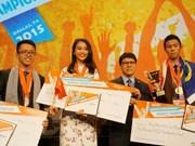 2015年微软办公软件世界大赛:越南选手夺得一枚铜牌