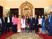 越南河内市与南非约翰内斯堡市就妇女权益保障分享经验