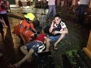 泰国曼谷爆炸遇难人数上升至22人123人受伤