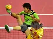 2015年越南全国青年藤球锦标赛落下战幕