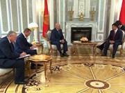 卢卡申科总统:白俄罗斯十分关注扩大对越合作