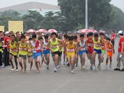 2015年越南国家青年田径锦标赛在河内举行