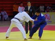 2015年越南全国青年柔道锦标赛在朔庄省举行