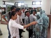 第20次越南中部和西原地区美术展展示200多件作品
