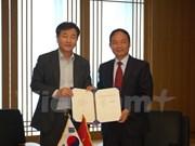 进一步加强越南通讯社与韩联社合作关系