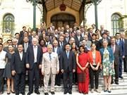越南在维护世界和平与稳定发挥日益重要作用