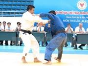 2015年越南全国青年柔道锦标赛落下战幕
