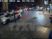 """泰国曼谷爆炸案:警方寻""""黑衣女子"""""""