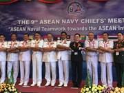 越南出席第九届东盟海军司令会议