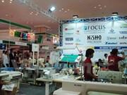 越南参加柬埔寨纺织工业机械展览会